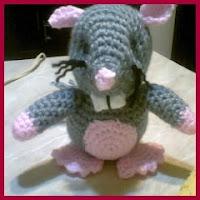 Rata amigurumi