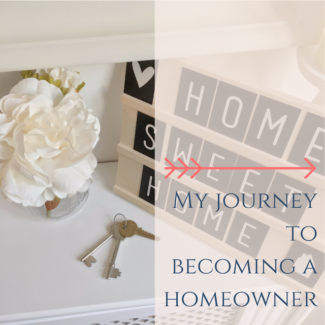 My journey to becoming a homeowner from dovecottageblog.com