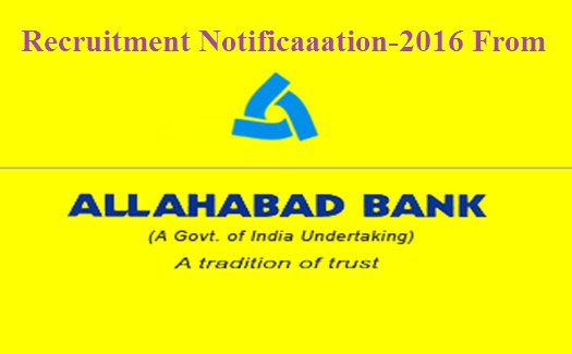 allahabad bank recruitment online apply