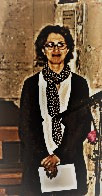 Samira a reçu le baptême en 2016 cathédrale de Sens