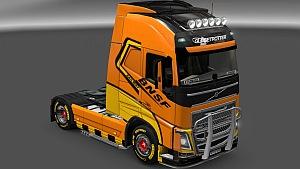 Volvo 2012 BNSF skin