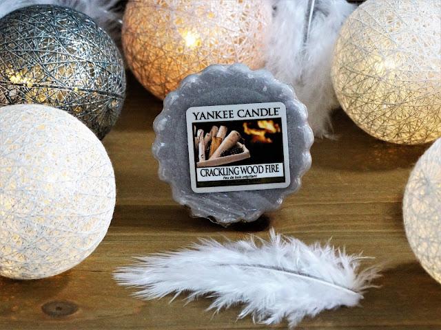 Avis Crackling Wood Fire (Feu de bois crépitant) de Yankee Candle - blog bougie - blog parfum