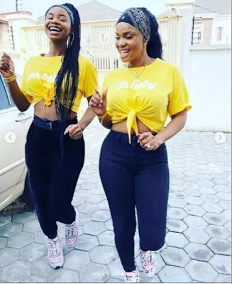 Movie Star Iyabo Ojo Twining With Her Hot Daughter