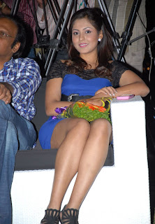 Madhu Shalini Pictures at Vodka with Varma book launch (1)