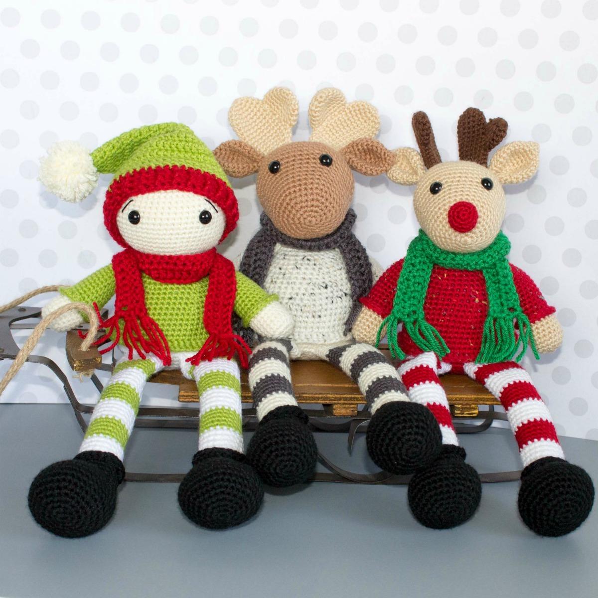 Free Crochet Moose And Crochet Reindeer Pattern