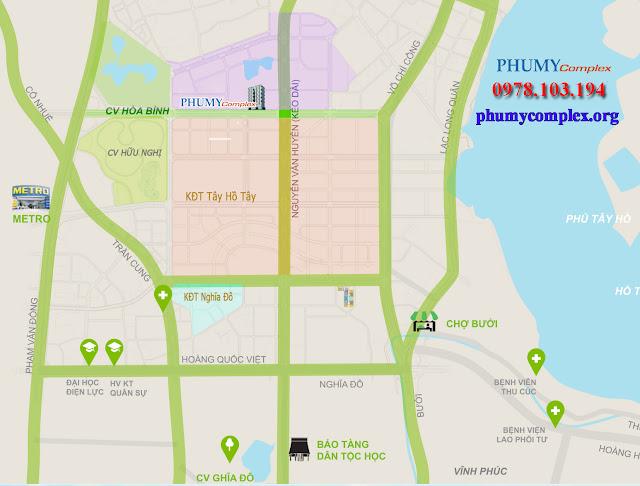 Vị trí chung cư Phú Mỹ Complex
