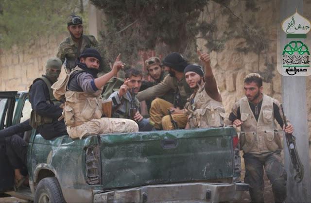 فصائل حلب : المعركة تسير حسب الخطة .. هدية الثوار للمسلمين فيديوا قتلى الشيعة المجوس +18