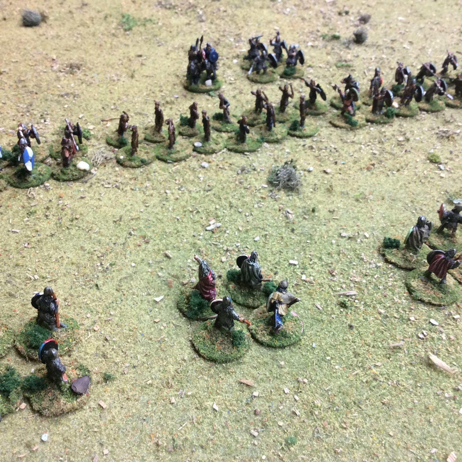 Vikings Attack the Anglo-Saxons