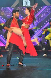Telugu Actress Angela Krislinzki Spicy Dance Performance in Red Dress at Rogue Audio Launch 13 March 2017  0008.jpg