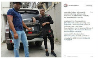 Humblesmith acquires new jeep