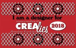 www.all4you-wilma.blogspot.com I am a designer for Crealies 2018
