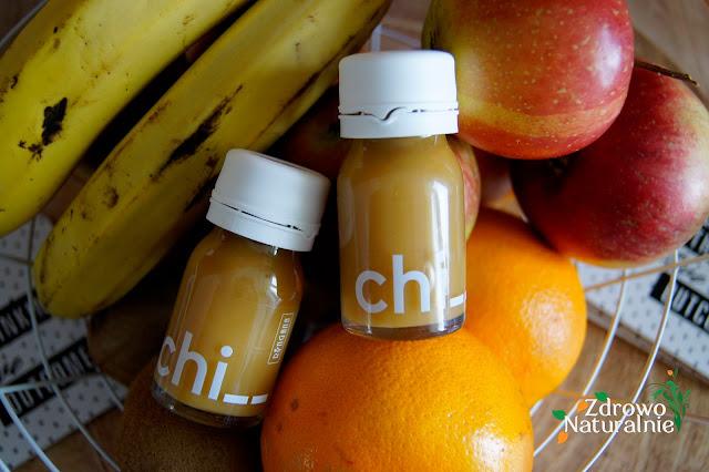 Ringana - CHI - Energy Shot - Naturalne napoje energetyczne z imbirem i ekstraktami ziołowymi