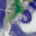 Ciclone gigantesco é um dos maiores da história recente do Atlântico Sul