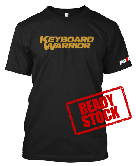 10a0ce86d0c7 Keyboard Warrior Tees #2 - MMA Indonesia