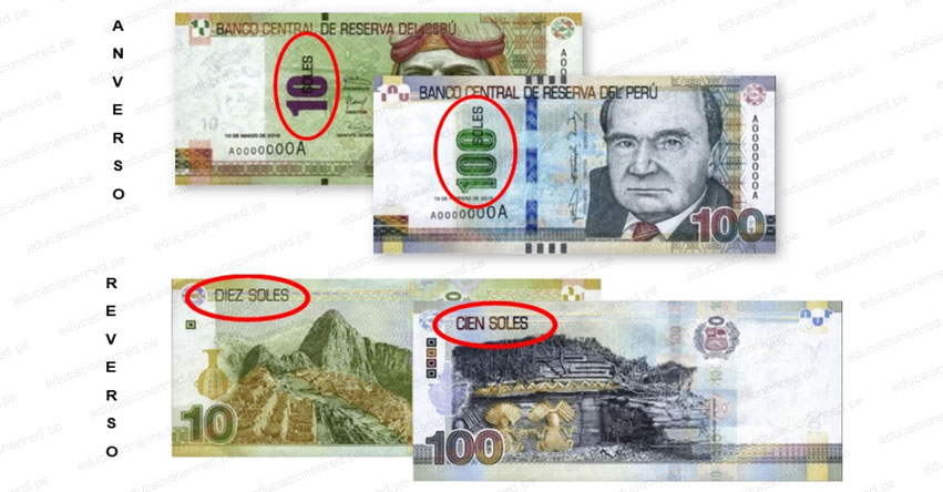 ATENCIÓN: Bancos retendrán billetes que no cumplan con tres medidas de seguridad, según lo establecido por el Banco Central de Reserva del Perú - BCRP