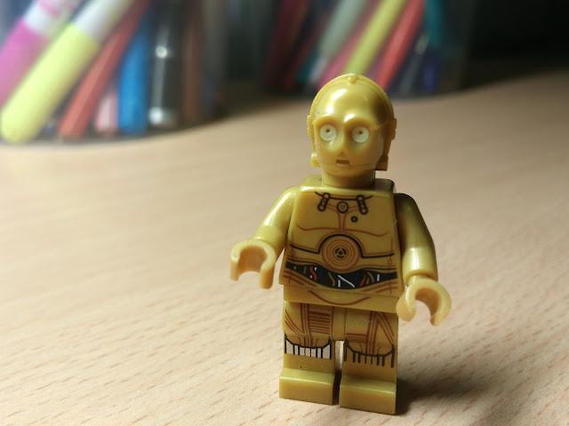C-3PO, дроид из Звездных войн, фигурка лего купить