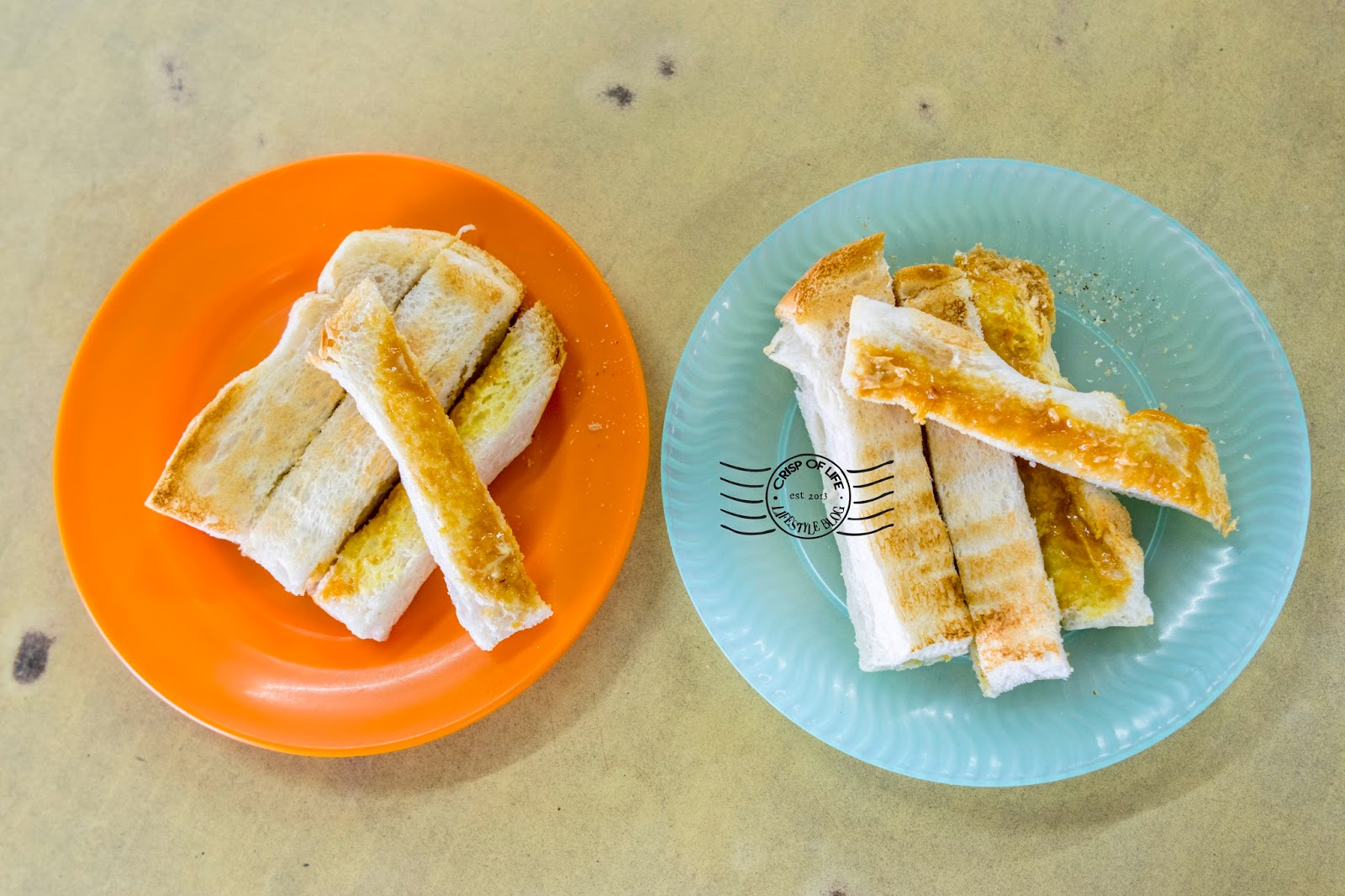 Toast in Penang