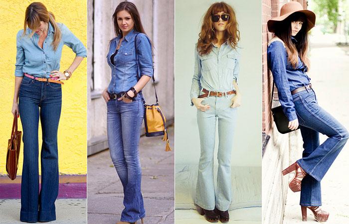 Não podemos deixar de falar das camisas jeans 5b39cffe1a1