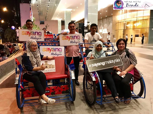 FOREST CITY, GREEN & SMART CITY,CAFE DROPTOP, ICETOP MAGGA, ICETOP KACANG,GRAND BAYVIEW RESTAURANT, TRISHAW CITY TOUR, BECA, JOHOR, MENARIK DI JOHOR,