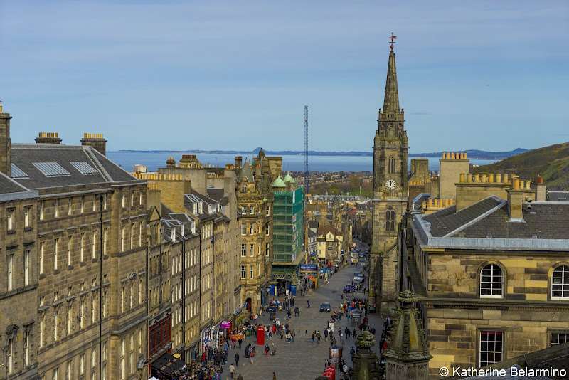 View of Edinburgh from St. Giles' Cathedral Rooftop Things to Do in Edinburgh in 3 Days Itinerary