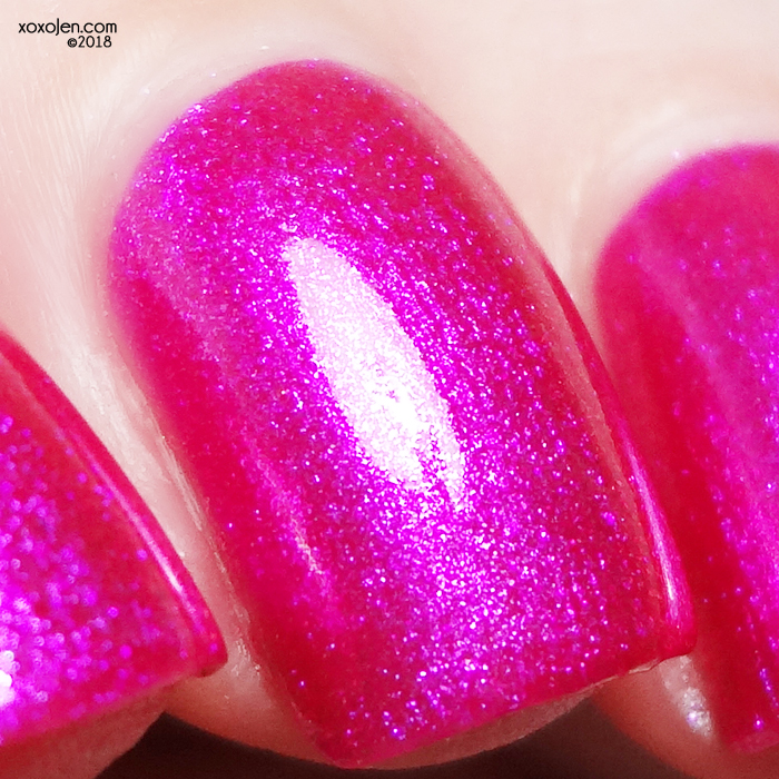 xoxoJen's swatch of Girly Bits Slushie Lips & Tips