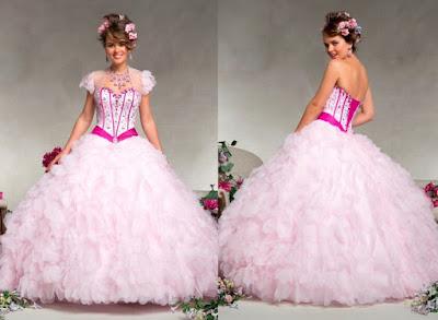 propuestas de Vestidos de 15 años Desmontables