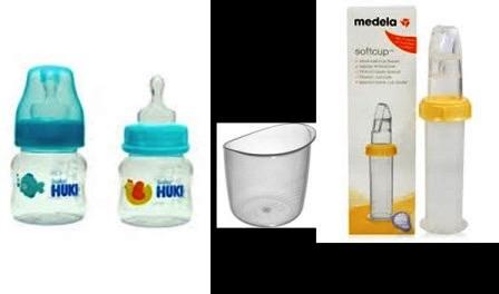 botol dot asi perah dan cup feeder