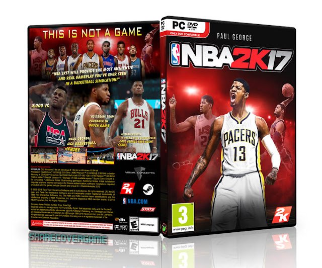 NBA 2K17 COVER BOX