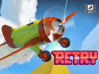 Free download official game Retry Rovio .APK Full + Data
