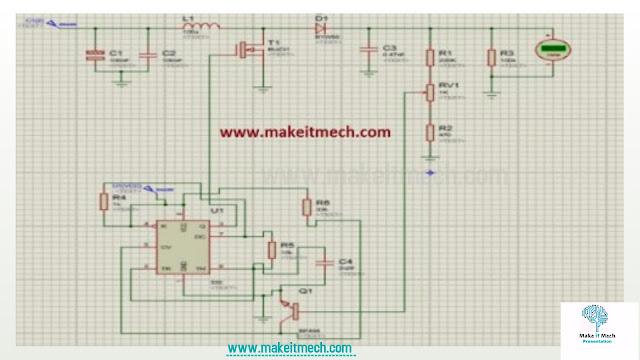 Boost converter circuit for solenoid