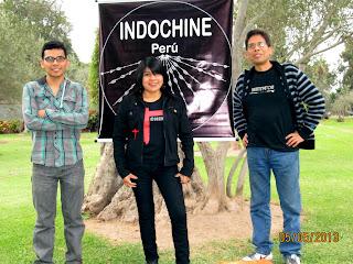 """Fotos de la """"I Concentración Indochine"""""""
