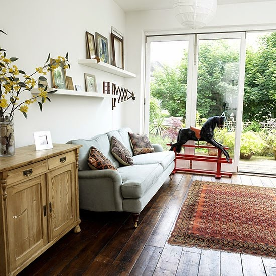 Traditional white conservatory