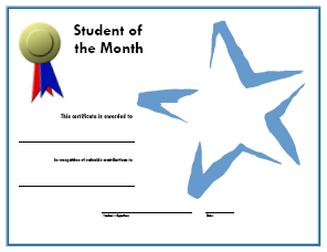 A media specialist 39 s guide to the internet 20 places to for Student of the week certificate template free