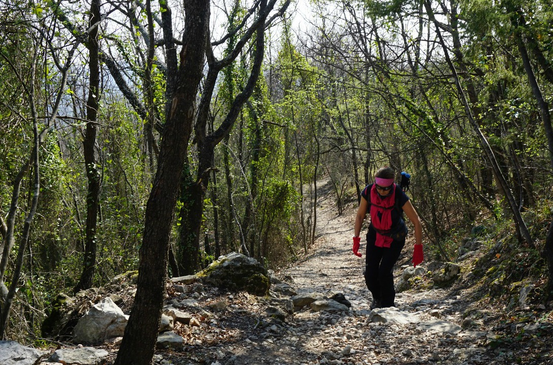 On the trail from Bar sur Loup