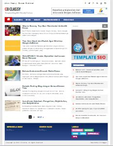CB Classy - Template Blog SEO Friendly Responsive Fast Loading Terbaru