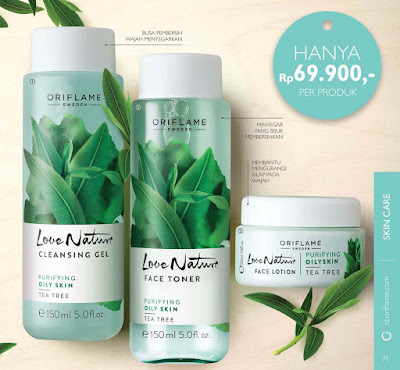 Love Nature Tea Tree dari Oriflame