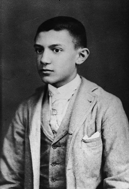 Young Pablo Picasso Age