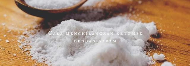 Cara menghilangkan ketombe dengan garam