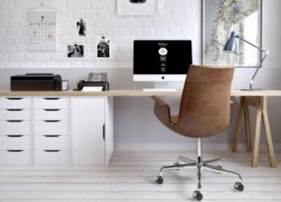 desain tempat kerja yang mewah