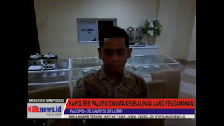 Video : Kuasa Hukum Muhammad Nur Meminta Kapolres Palopo Kembalikan Uang Pengamanan Eksekusi