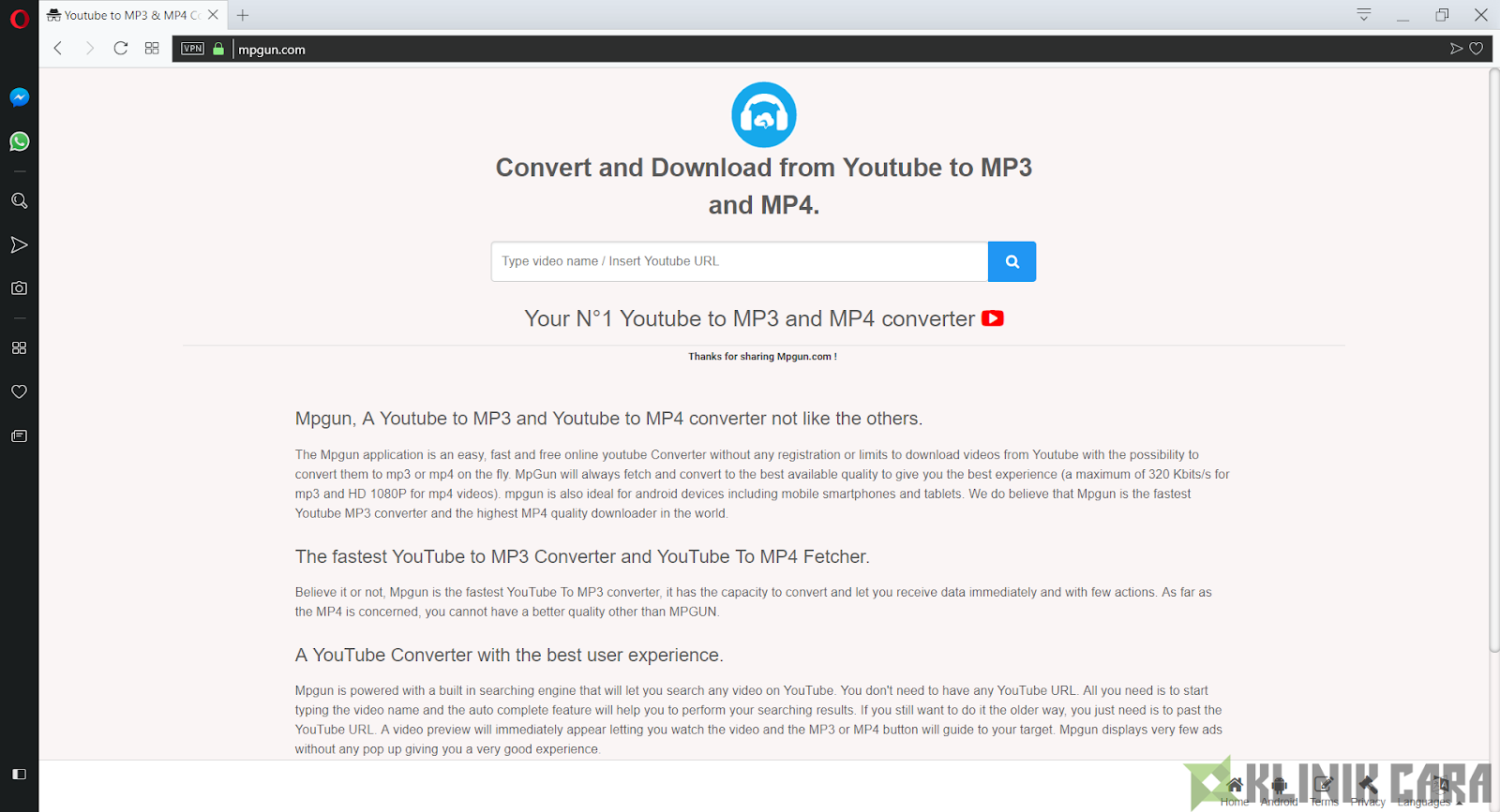 Cara Convert Video dari Youtube ke Mp3