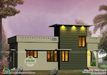 600 Sq-ft Small Contemporary House - Kerala Home Design