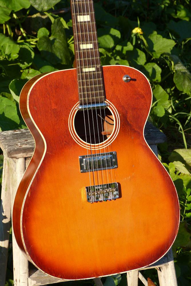 1964 2015 harmony made silvertone hollowbody electric guitar. Black Bedroom Furniture Sets. Home Design Ideas