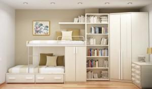 truques para fazer um quarto pequeno parecer maior