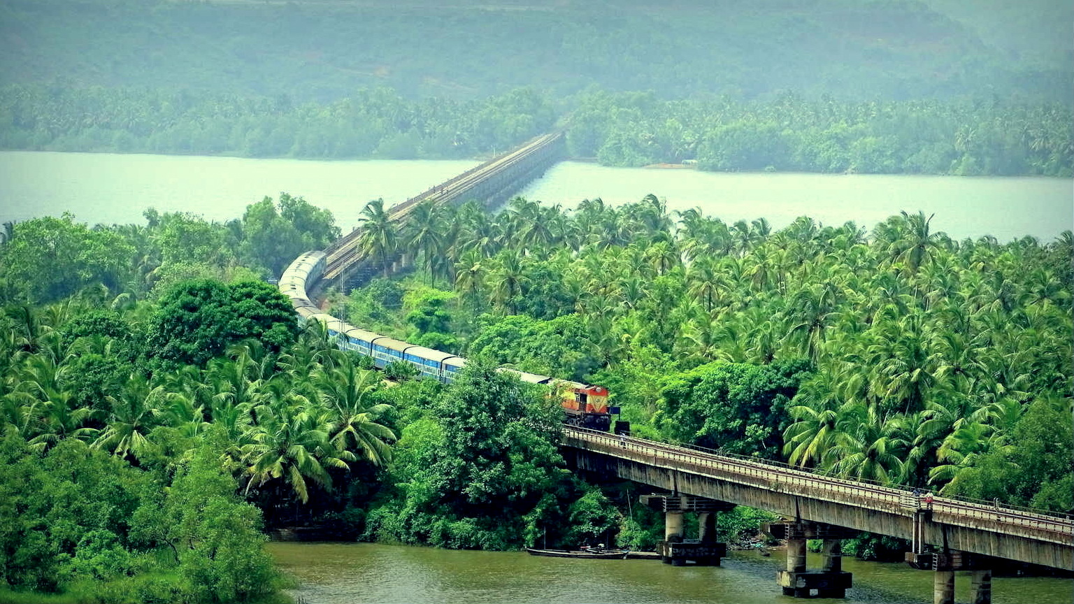 Image result for Konkan Railway: