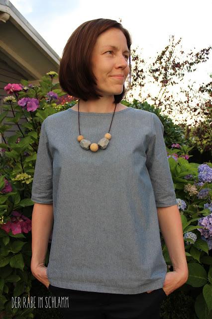 Frau Yoko, fritzischnittreif, Nähen, Sewing, Bluse, blouse