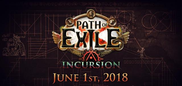 Path of Exile nos trae una nueva liga para  1º Junio  Liga de Incursión !!
