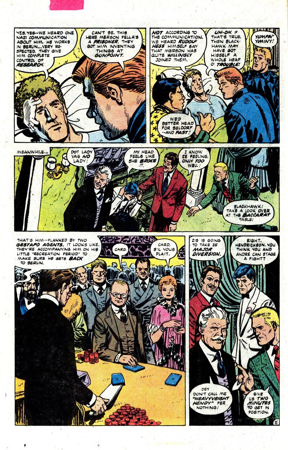 Read online Blackhawk (1957) comic -  Issue #252 - 15