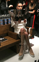 2017-02-01 ベラ・ハディッド(Bella Hadid)ニューヨークにて、ダナキャランニューヨーク(DKNY)のイベントにに参加。