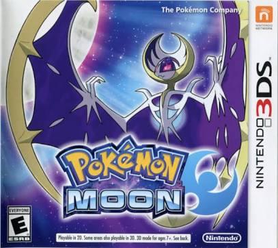 Pokemon Moon [Citra decrypted] (Region Free) Cover